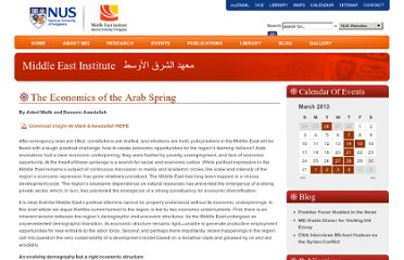 http://www.mei.nus.edu.sg/publications/mei-insights/the-economics-of-the-arab-spring