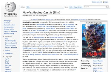 http://en.wikipedia.org/wiki/Howl%27s_Moving_Castle_(film)