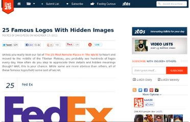http://list25.com/25-famous-logos-with-hidden-images/