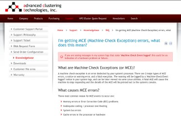 http://www.advancedclustering.com/faq/im-getting-mce-machine-check-exception-errors-what-does-this-mean.html