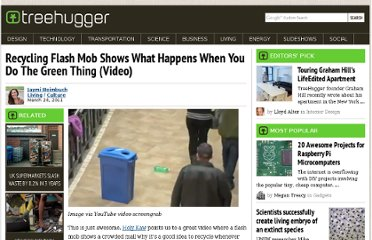 http://www.treehugger.com/culture/recycling-flash-mob-shows-what-happens-when-you-do-the-green-thing-video.html