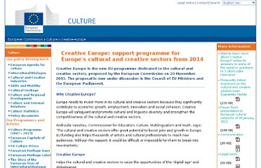http://ec.europa.eu/culture/creative-europe/index_en.htm