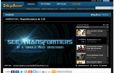 http://www.collegehumor.com/video/6639573/transformers-in-1-d