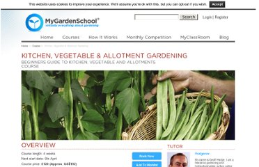 http://www.my-garden-school.com/course/grow-your-own-veg/