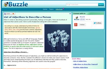 http://www.buzzle.com/articles/list-of-adjectives-to-describe-a-person.html