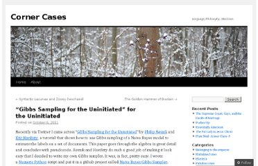 http://cornercases.wordpress.com/2011/10/06/gibbs-sampling-for-the-uninitiated-for-the-uninitiated/