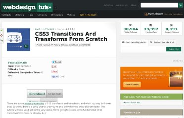 http://webdesign.tutsplus.com/tutorials/htmlcss-tutorials/css3-transitions-and-transforms-from-scratch/
