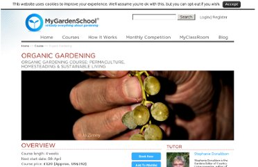 http://www.my-garden-school.com/course/the-organic-garden/