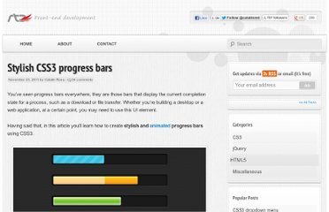 http://www.red-team-design.com/stylish-css3-progress-bars