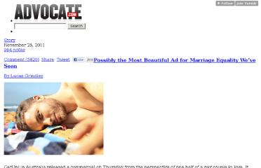 http://news.advocate.com/post/13324191023/possibly-the-most-beautiful-ad-for-marriage-equality