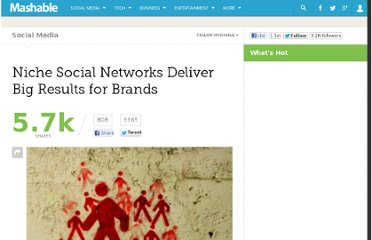 http://mashable.com/2011/11/27/niche-social-marketing/