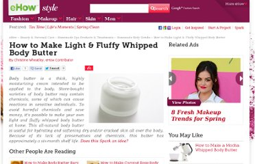 http://www.ehow.com/how_7802895_make-fluffy-whipped-body-butter.html