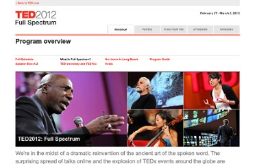 http://conferences.ted.com/TED2012/program/