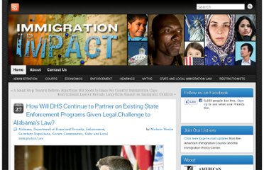 http://immigrationimpact.com/2011/10/27/given-federal-challenge-to-alabama-law-how-will-dhs-continue-to-partner-on-existing-enforcement-programs/