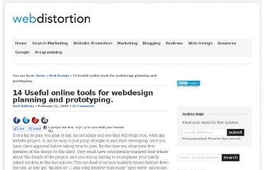 http://www.webdistortion.com/2009/02/22/useful-online-tools-for-easier-website-planning-and-prototyping/