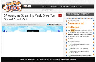 http://collegeinfogeek.com/37-awesome-streaming-music-sites-you-should-check-out/