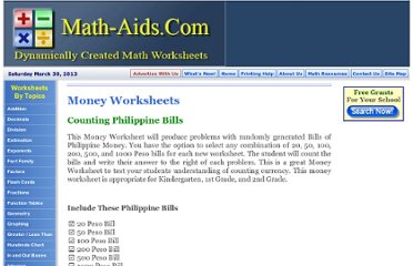 http://www.math-aids.com/Money/Counting_Bills_Philippine.html