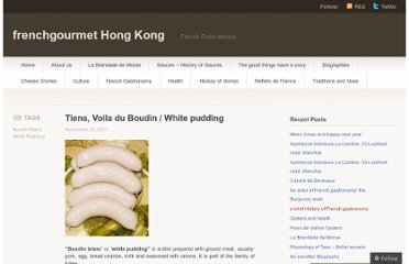 http://frenchgourmethk.wordpress.com/2011/11/28/tiens-voila-du-boudin-white-pudding-history/