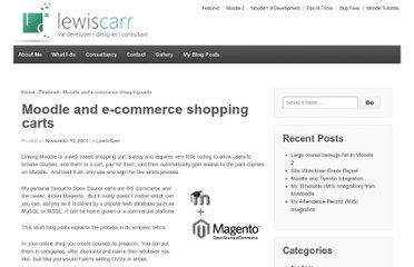 http://lewiscarr.co.uk/2011/11/moodle-e-commerce-shopping-carts/