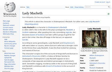 the part lady macbeth plays in the destruction of her husband in shakespeares macbeth In shakespeare's macbeth, fate plays an important role in the  lady macbeth herself also plays a role in the fate of  and inadvertently reveals her part in the.
