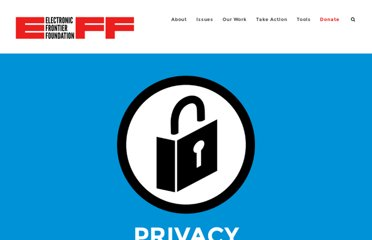 https://www.eff.org/issues/privacy