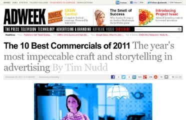 http://www.adweek.com/news/advertising-branding/10-best-commercials-2011-136663