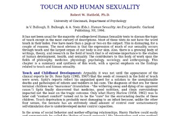 http://faculty.plts.edu/gpence/PS2010/html/Touch%20and%20Human%20Sexuality.htm