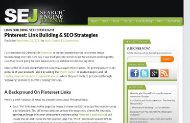 http://www.searchenginejournal.com/pinterest-link-building-seo-strategies/36951/