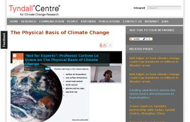 http://www.tyndall.ac.uk/tyndall-tv/physical-basis-climate-change