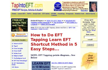 http://www.tapintoeft.com/eft-articles/2-tapping-eft-shortcut-method.html