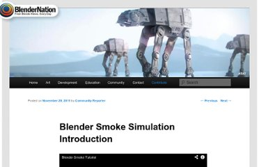 http://www.blendernation.com/2011/11/28/blender-smoke-simulation-introduction/#utm_source=feedburner&utm_medium=feed&utm_campaign=Feed%3A+Blendernation+%28BlenderNation%29