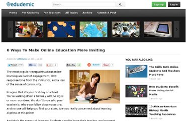 http://edudemic.com/2011/11/online-engagement/