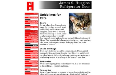 http://www.jamesshuggins.com/h/hum1/guidelines_for_cats.htm