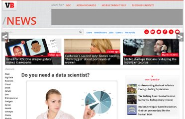 http://venturebeat.com/2011/11/28/do-you-need-a-data-scientist/