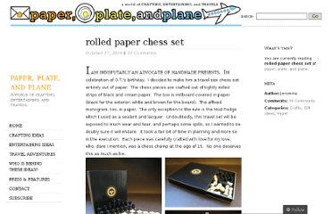 http://paperplateandplane.wordpress.com/2010/10/17/rolled-paper-chess-set/