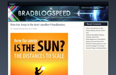 http://bradblogspeed.com/how-far-away-is-the-sun-another-visualization