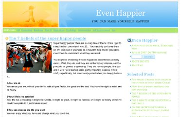 http://www.evenhappier.com/happiness/the_7_beliefs_of_the_very_happ.html