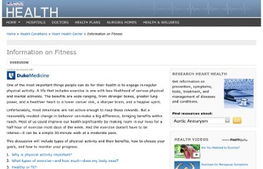 http://health.usnews.com/health-conditions/heart-health/information-on-fitness/overview