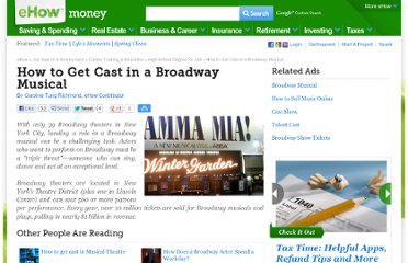 http://www.ehow.com/how_4913878_cast-broadway-musical.html