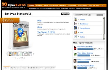 http://web-design-software-review.toptenreviews.com/mac-web-design-software/sandvox-review.html