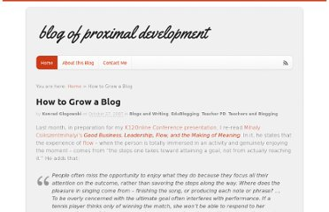 http://www.teachandlearn.ca/blog/2007/10/27/how-to-grow-a-blog/