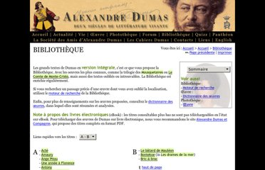 http://www.dumaspere.com/pages/bibliotheque/index.html