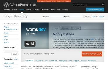 http://wordpress.org/extend/plugins/wordpress-wiki-plugin/