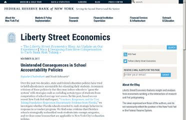 http://libertystreeteconomics.newyorkfed.org/2011/11/unintended-consequences-in-school-accountability-policies.html?