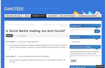 http://dansteer.wordpress.com/2011/11/28/is-social-media-making-me-anti-social/