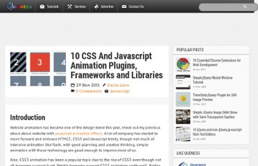 http://www.queness.com/post/9999/10-css-and-javascript-animation-plugins-frameworks-and-libraries