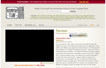 http://www.documentarytube.com/the-cove