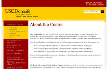 http://dornsife.usc.edu/writingcenter/