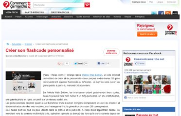 http://www.commentcamarche.net/news/5857425-creer-son-flashcode-personnalise