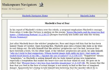 an analysis of the downfall of macbeth in the play macbeth by william shakespeare In william shakespeare's tragedy macbeth, ambition is presented as a dangerous quality because it is unchecked by any concept of morality, it causes the downfall of both macbeth and lady macbeth and triggers a series of deaths, making ambition the driving force of the play.